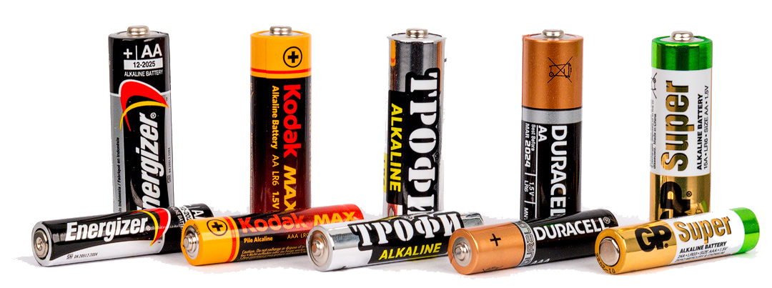 Батарейки для пульта АА. 2 ШТ
