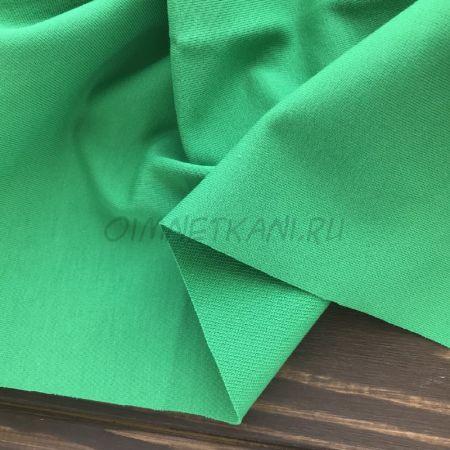 Трикотаж однотонный Ярко-зеленый