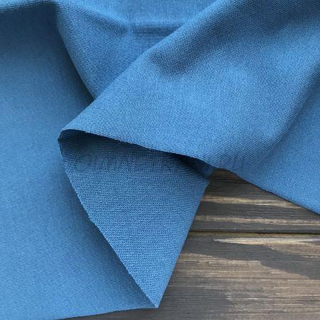 Трикотаж однотонный Темно-синий