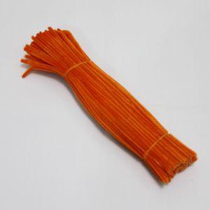 Синельная проволока 6мм х 300мм, ярко-оранжевый (1уп = 95-105шт)