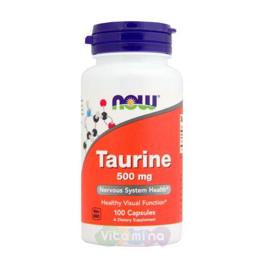 Аминокислота Таурин 100 капсул