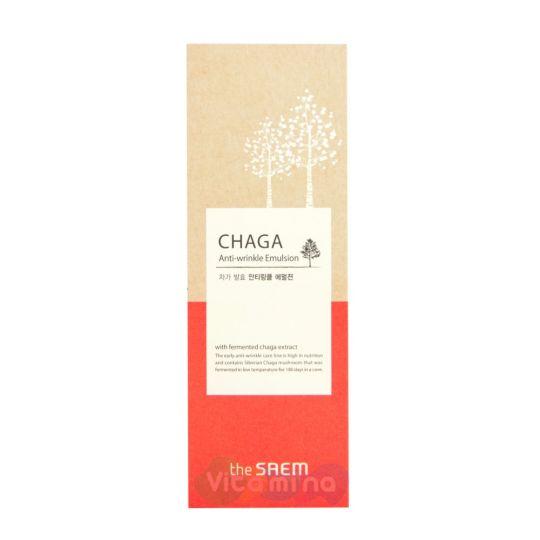 The Saem Chaga Anti-Wrinkle Emulsion Антивозрастная эмульсия
