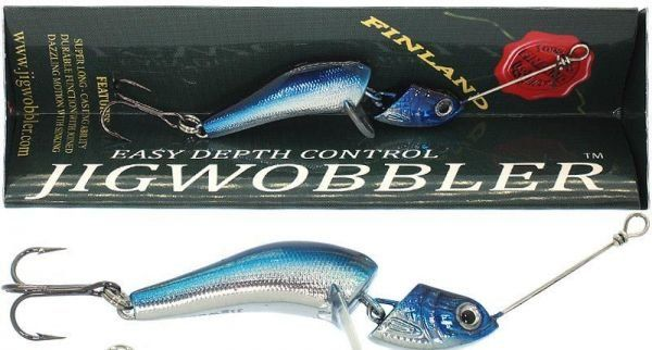 Джигвоблер Wake Jigwobbler 65, 6.5 см, 18 гр, Blue Silver