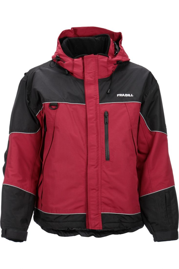 Куртка зимняя Frabill FXE SnoSuit Jacket Red размер 3XL