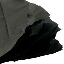 Бумага тишью, 50*50 см, чёрный, 10 лист/ уп