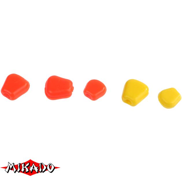 Кукуруза силиконовая Mikado TROUT CAMPIONE (чеснок) средняя / 001, упак
