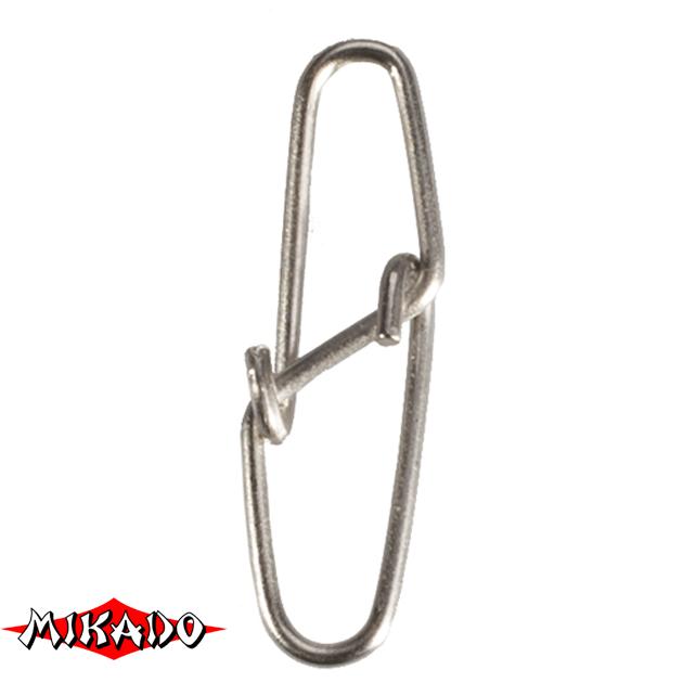 Застежка Mikado Diamond № 00.  тест 7 кг. (12 шт.) фас.=10 уп., упак