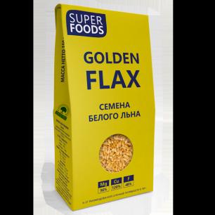 """""""Компас Здоровья"""" Семена белого льна (Golden Flax seeds), 150гр"""