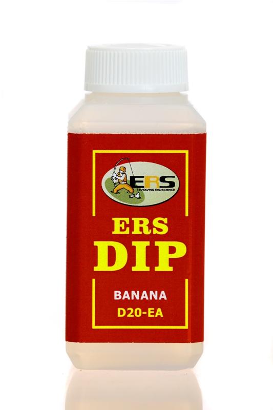 Жидкий ДИП ERS D20 E A Banan банан, объем 100 мл