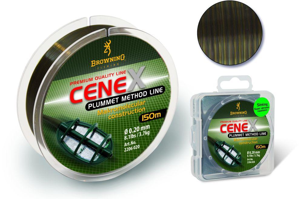Леска Browning Cenex Plummet Method Feeder Line 0,24 камуфляж 150м