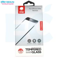 Защитное стекло Ainy Full Screen Cover для Apple iPhone 6/6S 0.33mm белое