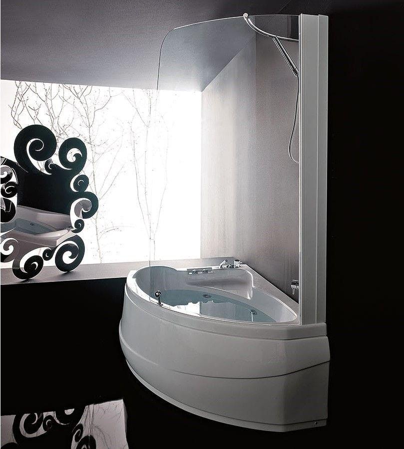 Стеклянная ванна Gruppo Treesse Syria Box 153x103 V655 + B655A ФОТО