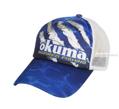 Кепка Okuma Blue Mesh Black