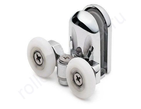 Ролик VH070 Cezares - нижние.(комплект 4шт) Диаметр колеса (от18,6 до 28мм)