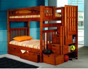 Кровать двухъярусная Артек №Д (с высокими верхними бортиками)