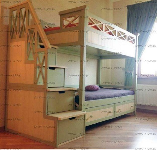 Кровать двухъярусная La Mer Массив №5