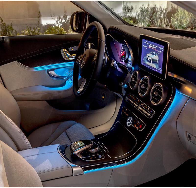 Штатная подсветка салона  Mercedes   C- klass (2014-2017) / GLC (2015-2017)