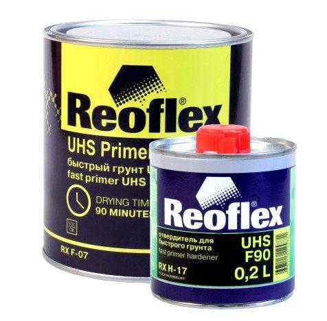 REOFLEX Быстрый грунт UHS черный, 800мл. + 200мл.