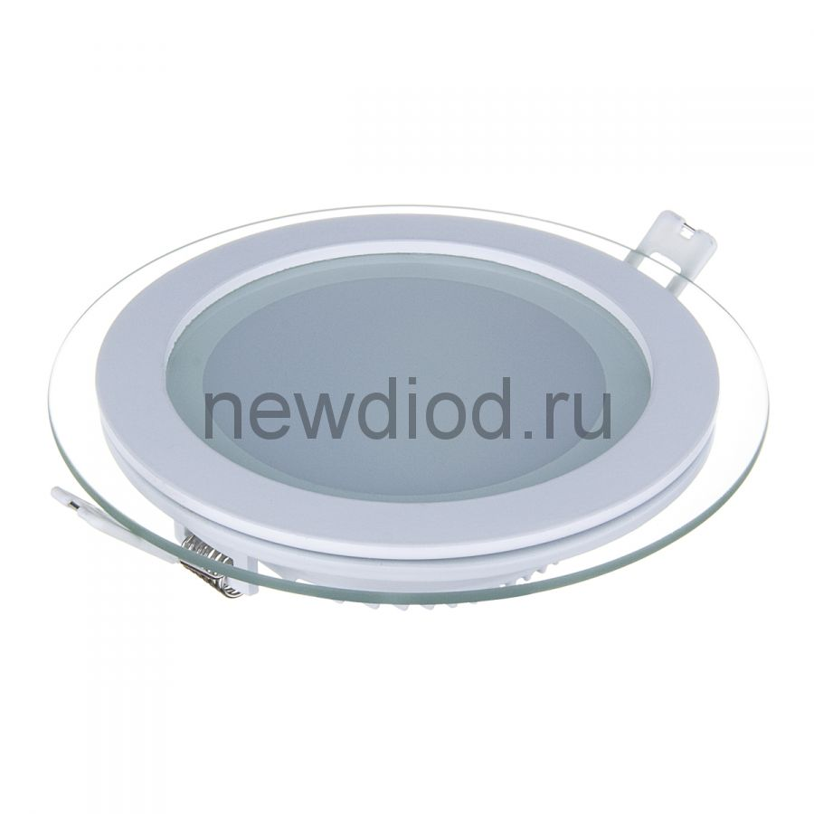 Светильник встраиваемый OREOL Glass Rlp 12W-960Lm 125/160mm 3000K