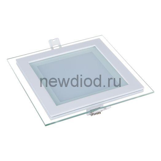Светильник встраиваемый OREOL Glass Slp 12W-960Lm 125/160mm 3000K