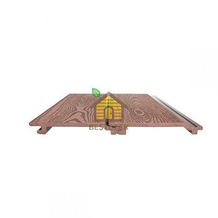 Фасадная доска из ДПК Goodeck 156*21 мм.Цвет: Шоколад.