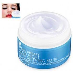 MIZON GOOD NIGHT WHITE SLEEPING MASK 80ml - ночная отбеливающая маска