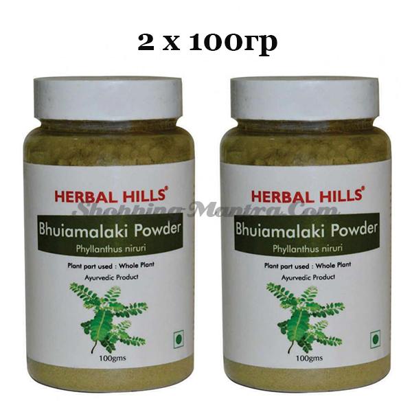 Бхуми Амалаки в порошке Хербал Хилс   Herbal Hills Bhumi Amalaki Powder