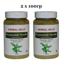 Бхуми Амалаки в порошке Хербал Хилс | Herbal Hills Bhumi Amalaki Powder
