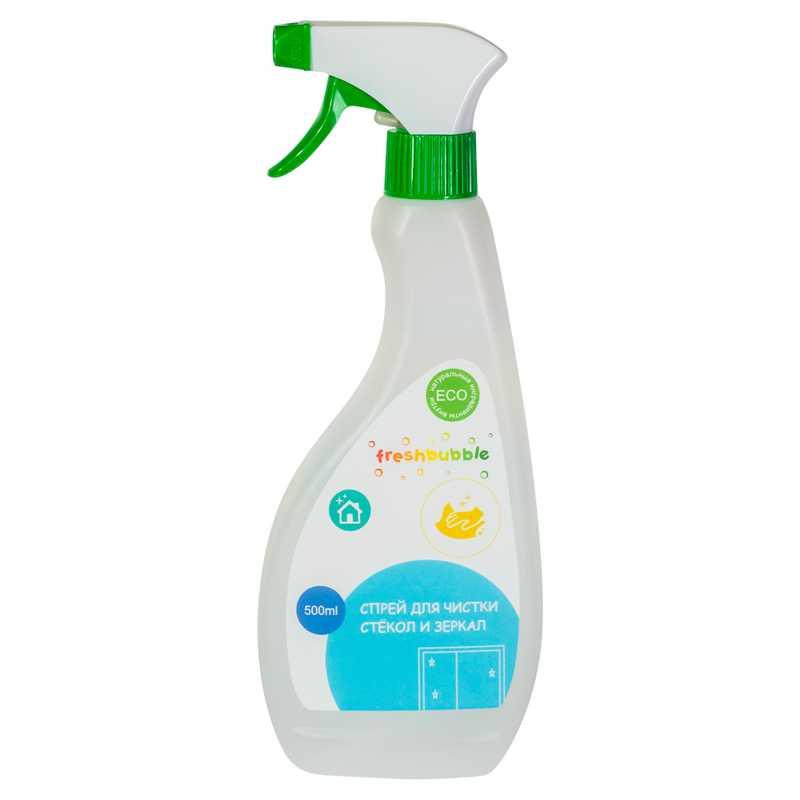 Спрей для чистки стёкол и зеркал Freshbubble (Фрешбабл) 500 мл