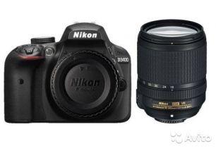 Nikon D3400 Kit 18-140VR