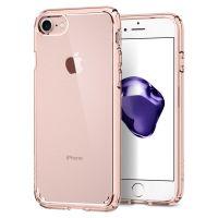 Чехол Spigen Ultra Hybrid 2 для iPhone 7 кристально-розовый