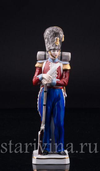 Солдат Гренадерской гвардии, 1853, Sitzendorf, Германия, вт. пол 20 в