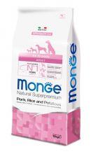 Monge Dog Speciality корм для собак всех пород свинина с рисом и картофелем 12 кг