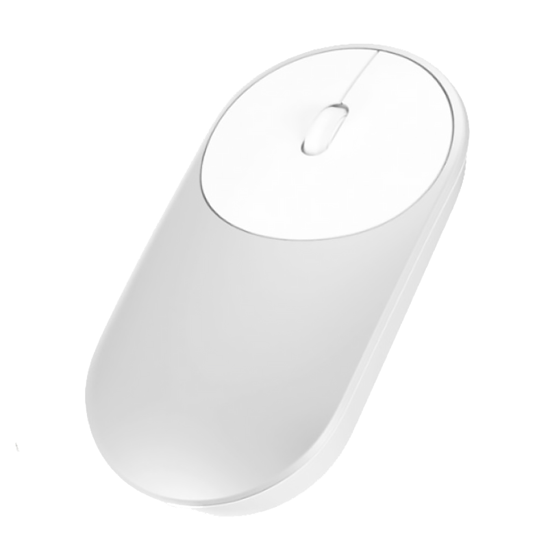 Мышь Xiaomi Mi Portable Mouse Silver Bluetooth (Серебро)