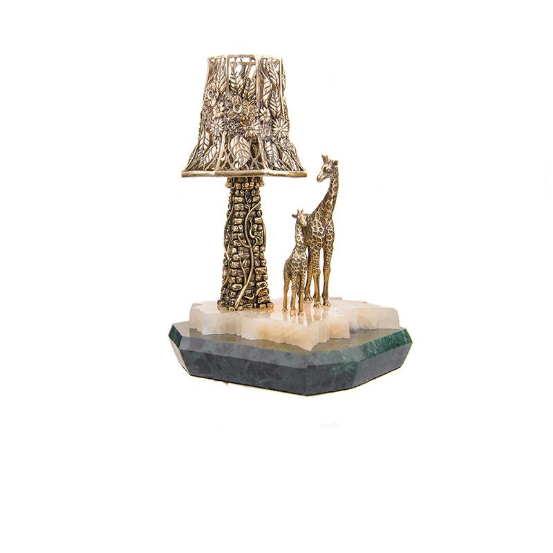 """Ночник с башней """"Жирафы"""""""