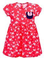 Платье с бабочками,  для девочек 3-7 лет BN973