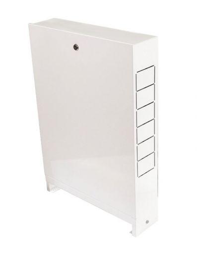 Грота Шкаф распределительный встроенный 670х125х744 (8-10 выходов)