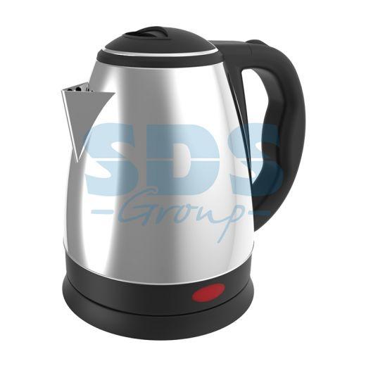 Чайник электрический DX3015 1, 5 л/1850 Вт; нержавеющая сталь