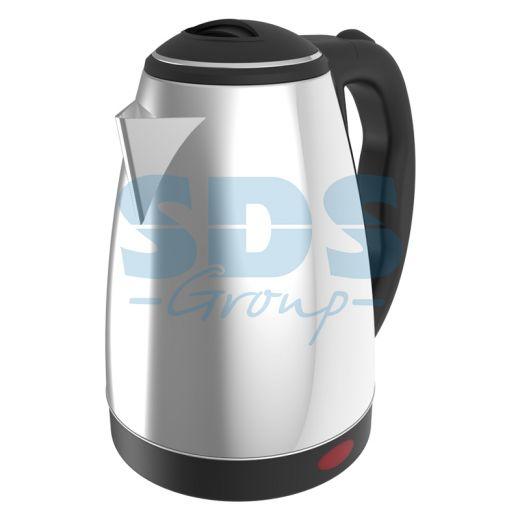 Чайник электрический DX3018 1, 8 л/1850 Вт; нержавеющая сталь