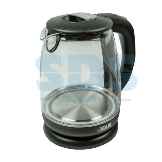 Чайник электрический DX-1258B 1, 7л/2200Вт, пластик/стекло