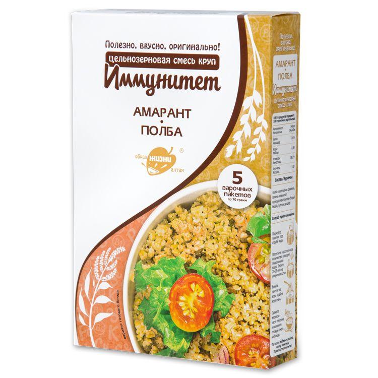 АЛТАЙ Смесь круп Иммунитет 350 г (амарант и полба)