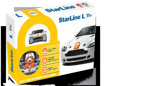 StarLine L11 + Электромеханический замок капота
