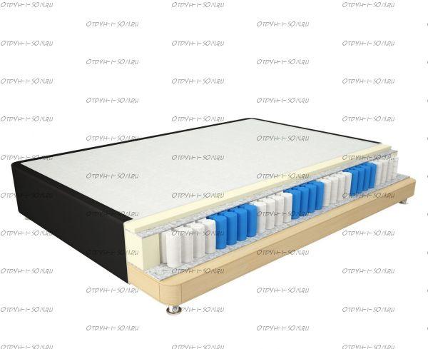 Кровать Spring Box 30 Mr.Mattress + матрас (любые цвета и размеры)