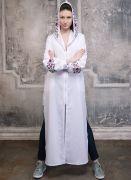 Платье-балахон - универсальная, комфортная, всегда изысканная вещь отличный вариант для прогулок, вечеринок, активного отдыха.