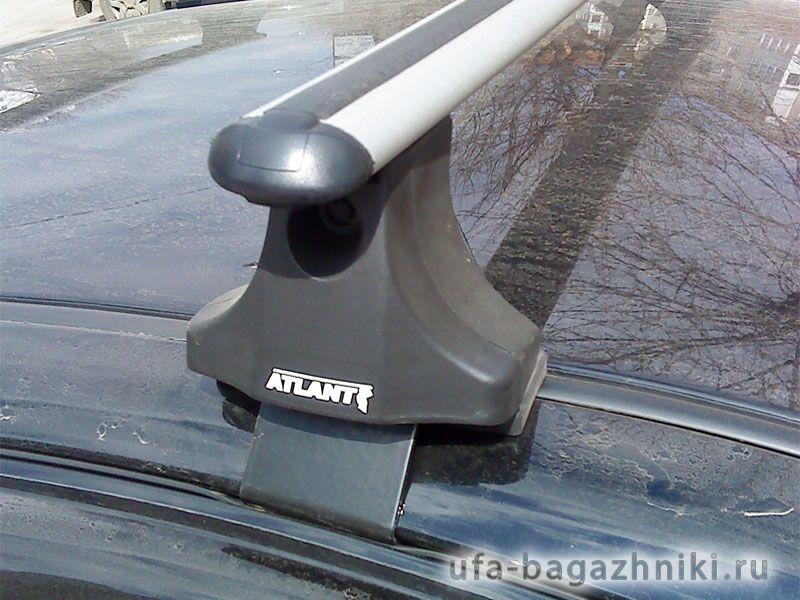 Багажник на крышу Daewoo Matiz (Атлант). Аэродинамические дуги.