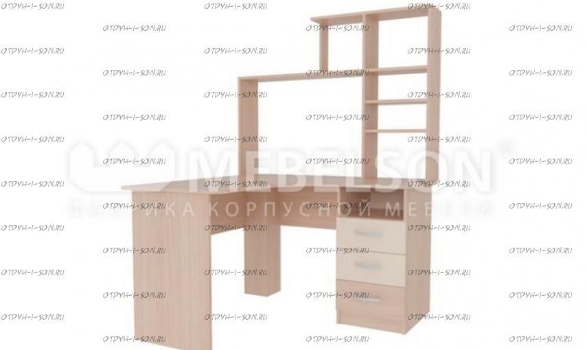 Компьютерный стол угловой с надстройкой Галерея