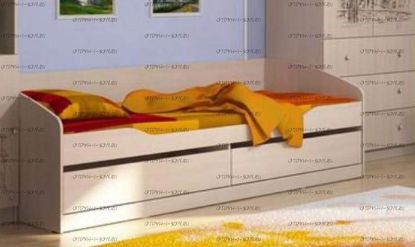 Кровать Мийа-3 КР-313 (80х200) без фотопечати