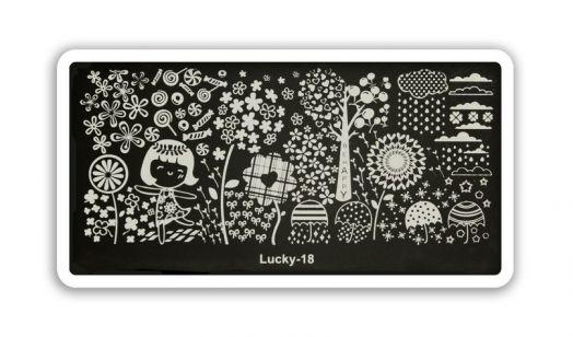 Стемпинг плитка Lucky высшее качество 18