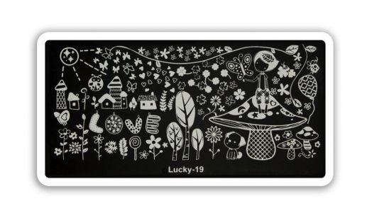 Стемпинг плитка Lucky высшее качество 19