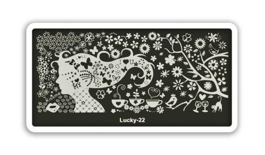 Стемпинг плитка Lucky высшее качество 22